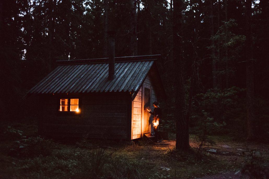 pilgrims hut / forest cabin